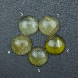 Жёлтый кварц 16х16
