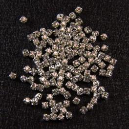 Стразы пришивные 3 мм (набор)
