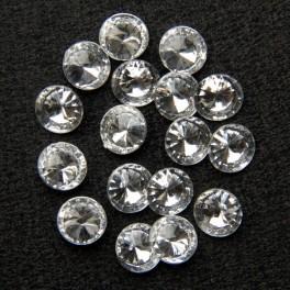 Риволи серебрянные 10х10