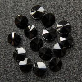 Риволи чёрные 10х10
